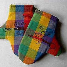 Úžitkový textil - KUCHAŘINKY - chňapky - 6724136_