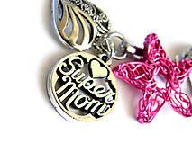 Kľúčenky - vynimocna mama - cyklamen hviezdicka - 6724374_