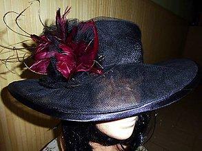 Čiapky - Spoločenský klobúk - 6721826_