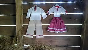 Detské súpravy - Obliekla som folklórny súbor II. - 6727643_