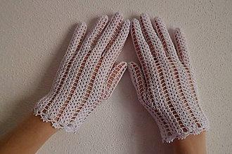Rukavice - Svadobné rukavičky - 6725820_