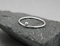 Delikátný 925 Strieborný prsteň