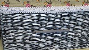 Košíky - Košíky-Patinka s ružičkami - 6726462_