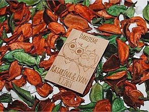 Darčeky pre svadobčanov - Svadobná magnetka #33 - 6727955_