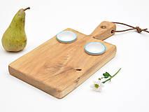 Pomôcky - Robustus Bystrozraký drevený servírovací lopár - 6727345_