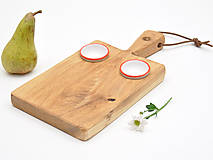 Pomôcky - Robustus Bystrozraký drevený servírovací lopár - 6727348_
