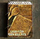 Papiernictvo - Receptár - Kuchárska kniha - Vintage-Babkina kuchyňa 1/Posledný kus - 6725850_