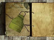 Papiernictvo - Receptár - Kuchárska kniha - Vintage-Babkina kuchyňa 1/Posledný kus - 6725852_