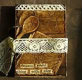 Papiernictvo - Receptár - Kuchárska kniha - Vintage-Babkina kuchyňa 1/Posledný kus - 6725853_