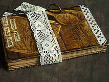 Papiernictvo - Receptár - Kuchárska kniha - Vintage-Babkina kuchyňa 1/Posledný kus - 6725855_