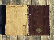 Papiernictvo - Receptár - Kuchárska kniha - Vintage-Babkina kuchyňa 1/Posledný kus - 6725883_