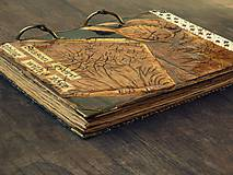 Papiernictvo - Receptár - Kuchárska kniha - Vintage-Babkina kuchyňa 1/Posledný kus - 6726341_