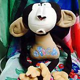 Hračky - Opička s menom - 6726045_