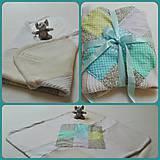 Textil - Jemná detská dečka/zavinovačka - 6724995_