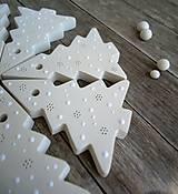 Dekorácie - Stromček biely - 6729964_