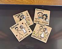 - Svadobné magnetky - 6731924_