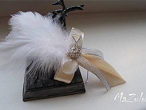 Pierka - svadobné pierko pre rodičov - 6728899_