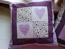 Úžitkový textil - romantické vankúše 1 - 6729021_