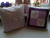 Úžitkový textil - romantické vankúše 1 - 6729026_