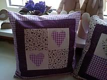 Úžitkový textil - romantické vankúše 1 - 6729036_
