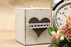 Svietidlá a sviečky - Svietnik H70mm - 6730837_
