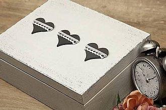 Krabičky - HM - Krabička na čaj - 6 priehradková - 6729328_