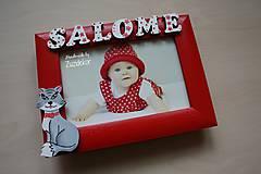 Detské doplnky - Fotorámik mačička - 6731873_