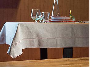 Úžitkový textil - Linum Ľanový obrus 145x300cm - 6730368_