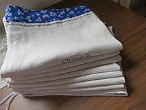 Úžitkový textil - vrecko na chlebík  - 6729803_