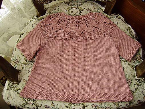55b81402e Pletené detské šatočky / babenka - SAShE.sk - Handmade Detské oblečenie