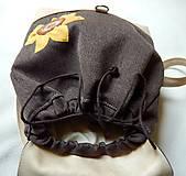 Batohy - BACKPACK Sunflowers batôžtek menší - 6729784_