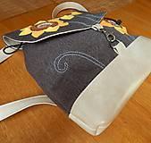 Batohy - BACKPACK Sunflowers batôžtek menší - 6730315_