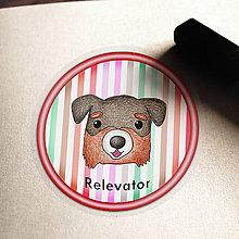Pomôcky - Psia podšálka pruhovaná (Bernský salašnícky pes) - 6731505_