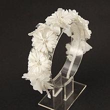 Ozdoby do vlasov - Wedding Lace Collection ... čelenka - 6734059_