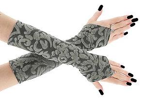 Rukavice - Dámské rukavice šedé opera  0750 - 6735993_