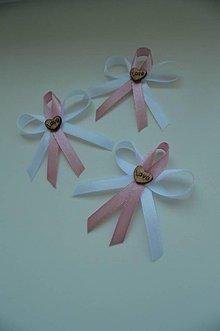 Pierka - love staro ružová - 6735147_