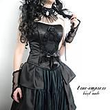 - Gothický saténový korzet - 6735854_