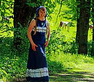 - Sukňa batikovaná, maľovaná, folk ČARDÁŠ - 6733679_