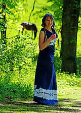 Sukne - Sukňa batikovaná, maľovaná, folk ČARDÁŠ - 6733680_