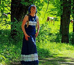 Sukne - Sukňa batikovaná, maľovaná, folk ČARDÁŠ - 6733679_