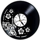 Hodiny - hodiny na stenu Paríž - 6735624_