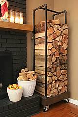 Pomôcky - Držiak na drevo - 6732915_