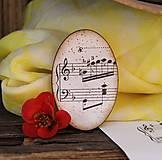 Stará hudba / brošňa