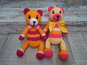 Hračky - 2 x vanilka/pink - 6735930_