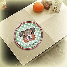 Pomôcky - Psia podšálka bodkovaná - Bernský salašnícky pes - 6734033_