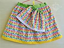 Detské oblečenie - Detská sukienka veselá a hravá - 6737377_