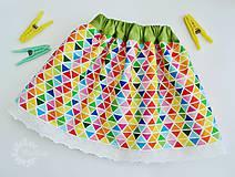 Detské oblečenie - Detská sukienka veselá a hravá - 6737379_