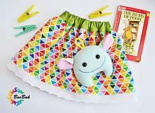 Detské oblečenie - Detská sukienka veselá a hravá - 6737380_