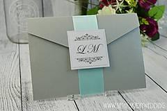 Papiernictvo - Svadobné oznámenie Caroline - 6737864_