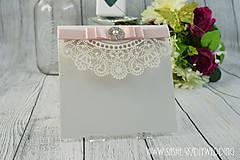 Papiernictvo - Svadobné oznámenie Chiara - 6737887_